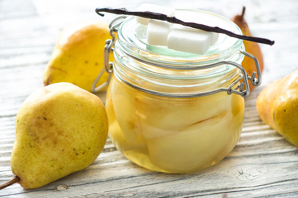 Pears in a Jar